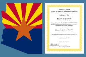 Licensed by the Arizona Board of Behavioral Health Examiners